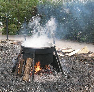 Door county fish boil recipe my fishing partner for Fish boil door county