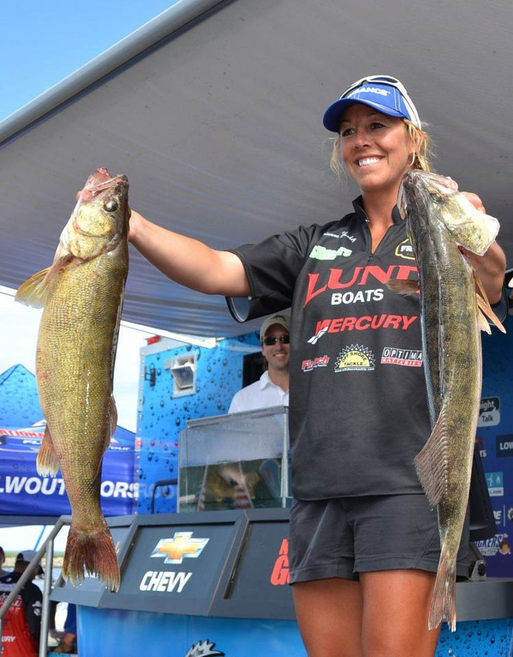Women 39 s walleye weekend my fishing partner for Women who fish