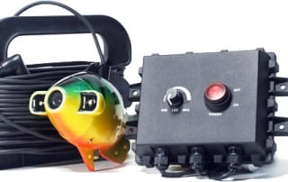Aqua-Vu's Multi-Vu System instantly adds underwater video to your sonar unit or LCD