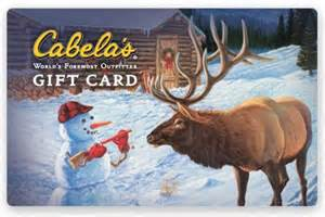 Wanna win a $25 Gift Certificate to Cabelas From Myfishingpartner?