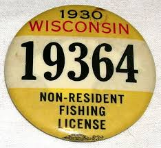 Reminder:  Time to get a new fishing License!