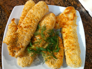 Potato Flake Walleye Recipe