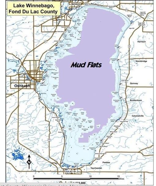 Devils Lake Nd >> Where are the Lake Winnebago Mud Flats?? – My Fishing Partner